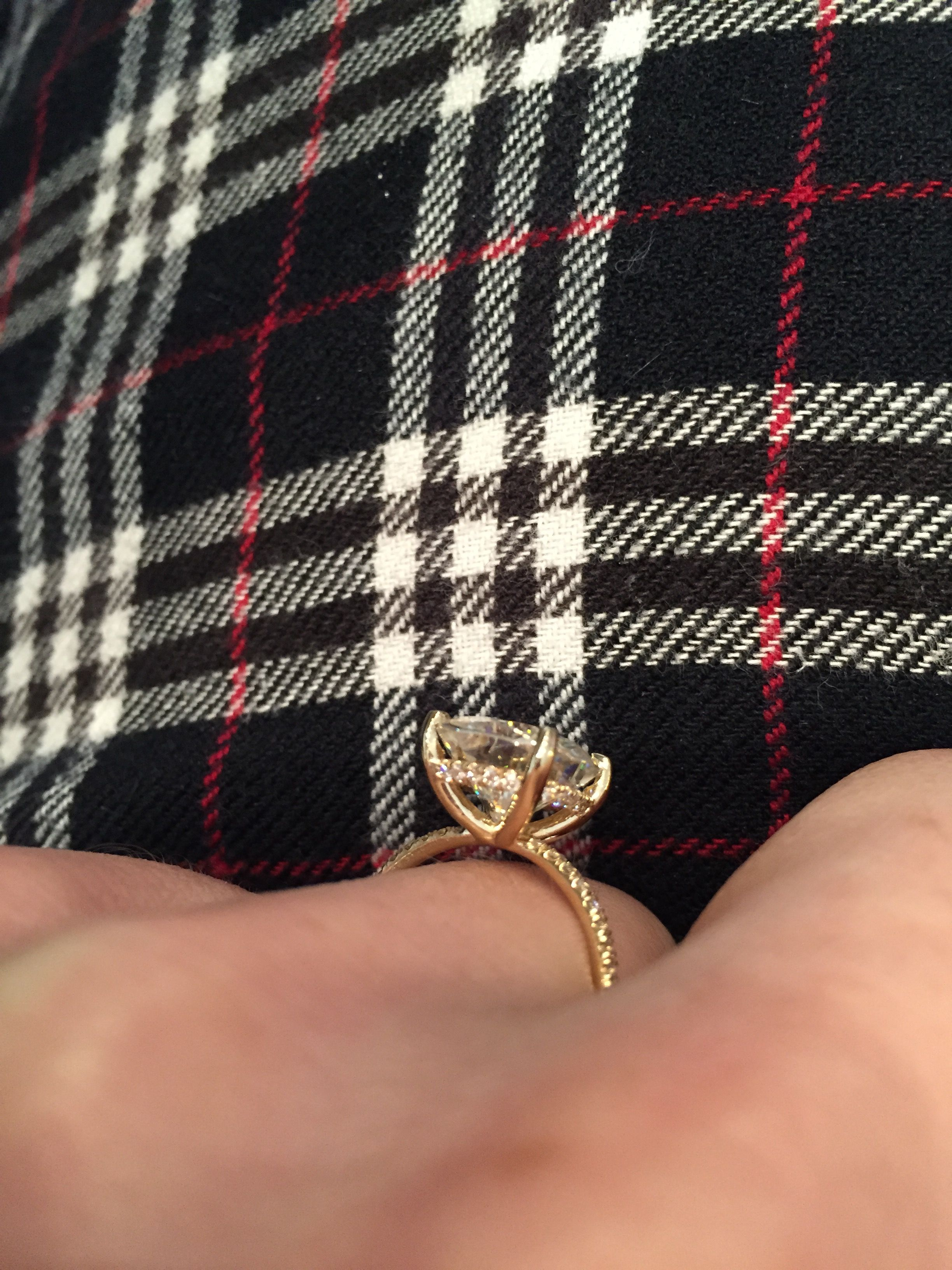 Moissanite Weddingbee …