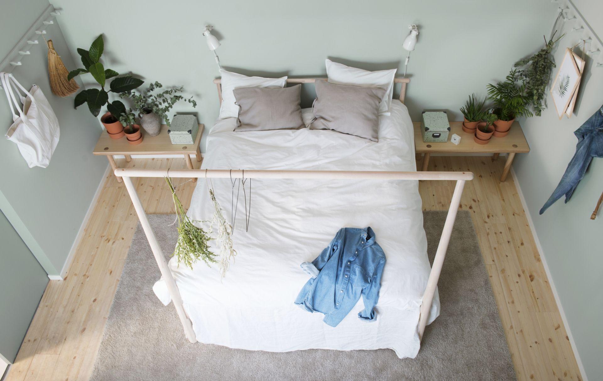 Slaapkamer Inspiratie Hout : GjÖra bedframe ikea ikeanl ikeanederland bed slaapkamer slapen