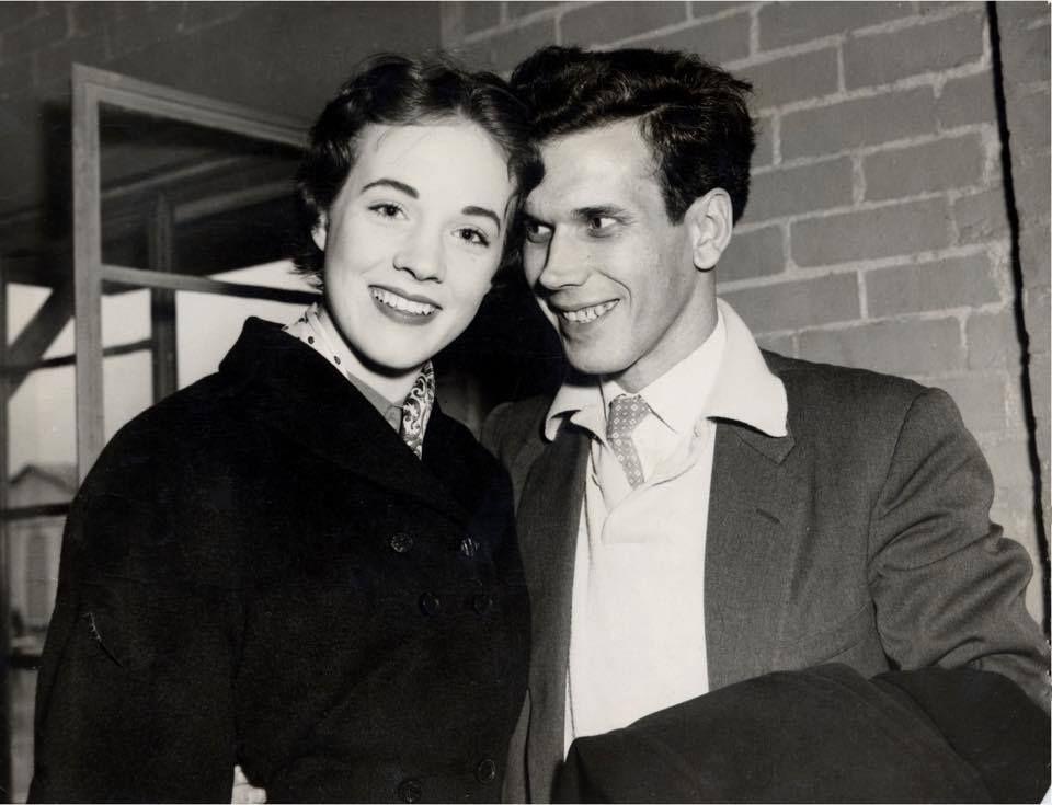 Neil McCallum, Julieu0027s Boyfriend. He And Julie Dated Around 1954 1955