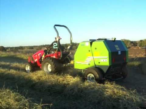 910 TRB910 Twine 3X3 Round Baler - Mini Hay Balers and Compact Hay