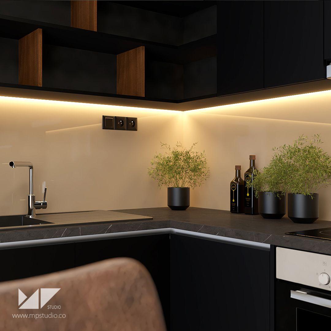 Designer Homeinterior Design: Kitchen Interior HA