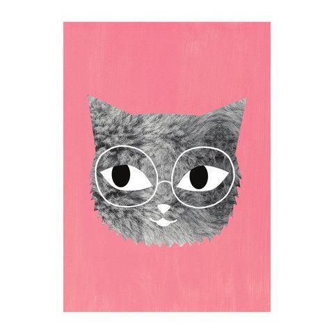 Poster . Fur & Glasses