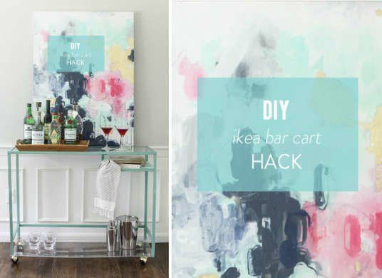 10 IKEA Favorites Made Better by a DIY Paint Job is part of Cool home Bar - The IKEA name has come to represent smart, affordable furniture for homeowners and apartment dwellers of all ages  But with that popularity comes easy recognition; if you've outfitted your room in purchases from IKEA, it can feel like you own the same furniture as everyone on your block  Fortunately, painting it with a can or a bucket of fresh color is all it takes to make the store's bestsellers unrecognizable  IKEA furniture may have modern lines, but it's been in business since the early 1940's, when it was founded in Sweden by 17yearold Ingvar Kamprad  It remained a mail order business for several years before opening its first store in the late 50's, and then spreading to the rest of Scandinavia  It made its way to the United States in 1985, and has been consistently popular with budget and design conscious buyers  So, don't blame your neighbor for loving and owning the same IKEA desk you just purchased  Instead, differentiate yourself! Painting transforms the standard IKEA furniture into custom looks that are uniquely you  These easy redos don't require a lot of time or money, which means your affordable furniture still won't break the bank after the cost of additional materials  Click through our inspiration gallery to find ideas for painting your next IKEA furniture upgrade
