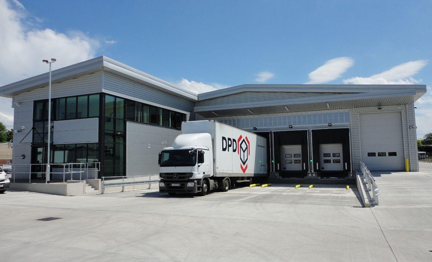 DPD distribution centre Recreational vehicles, Parcel