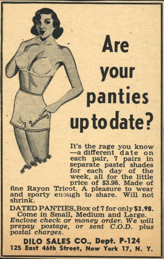 Ha! {Days of the Week, Circa 1930s.}
