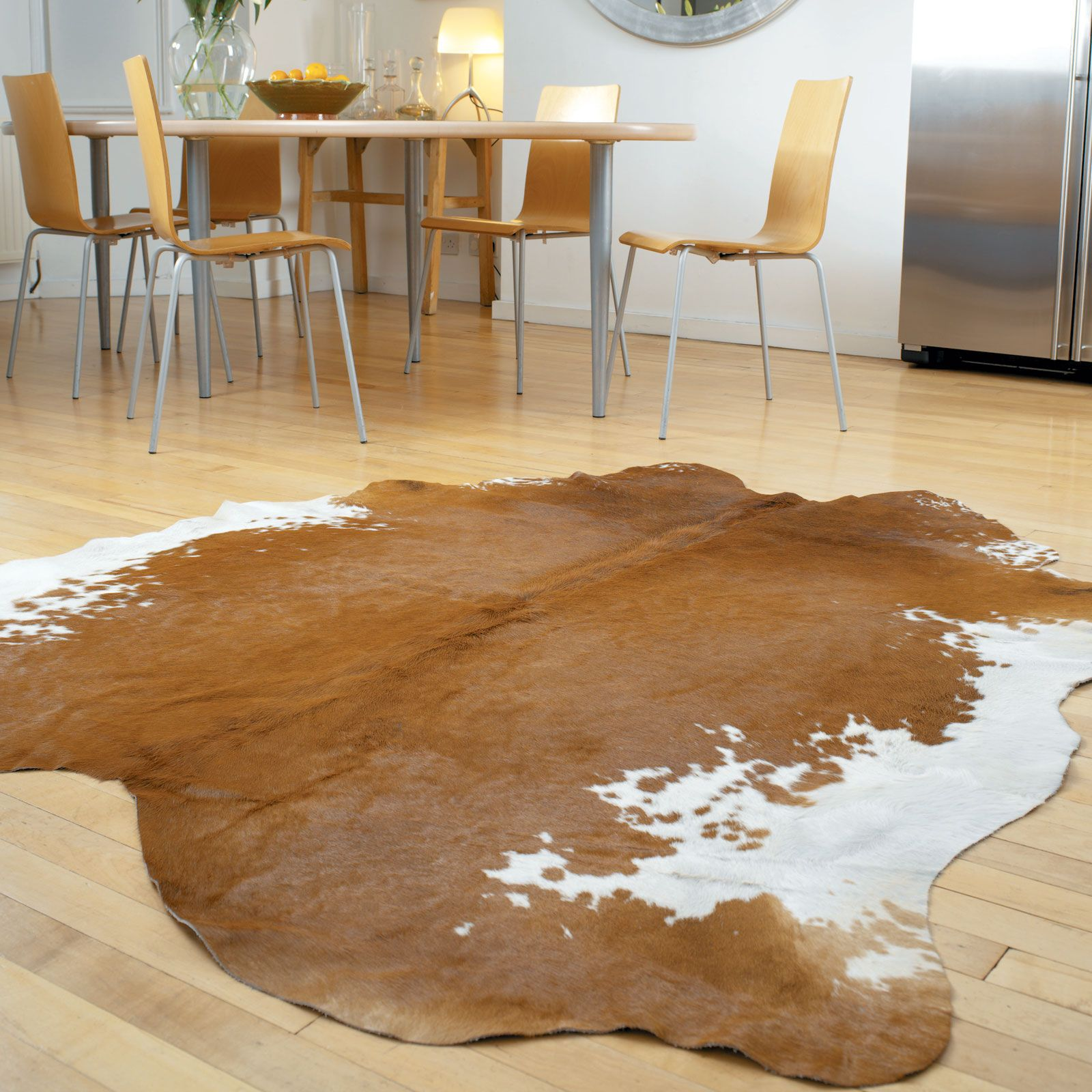 Rodeo Cowskin Rugs In Brown And