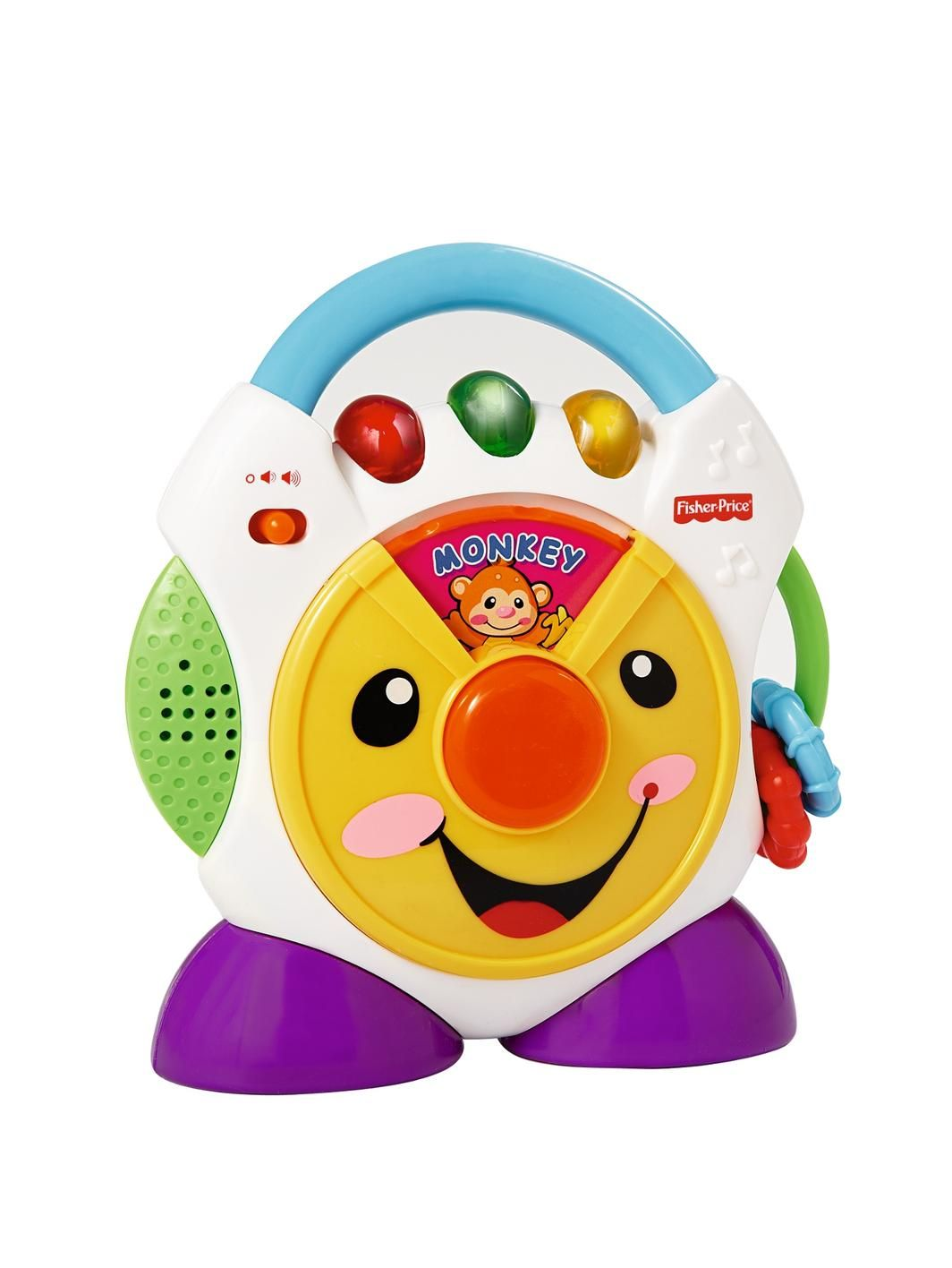 This Portable Laugh And Learn Nursery Rhyme Cd Player Teaches Your Child Fun Rhymes Animals Names Noises So They Can While Play