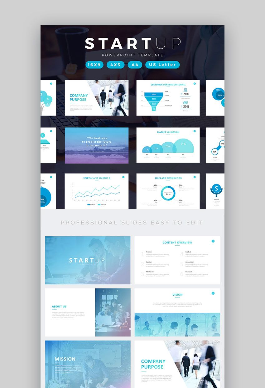 Startup business pitch deck powerpoint template email templates startup business pitch deck powerpoint template accmission Images