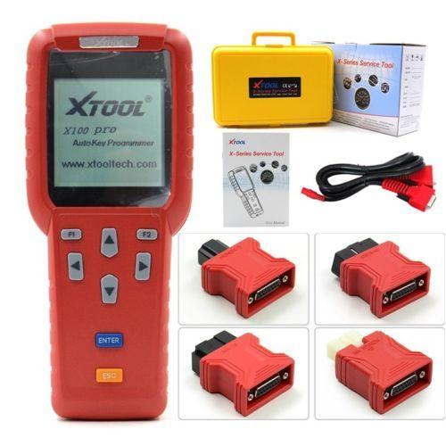 New XTOOL X-100 Pro OBD2 ECU Reset ECM Immobilizer Scanner Tool Code