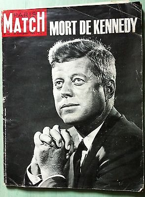 paris match n 764 original du 30 novembre 1963 mort de kennedy couvertures paris match. Black Bedroom Furniture Sets. Home Design Ideas