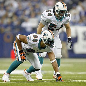 Zach Thomas & Jason Taylor.  Bringing a whole new meaning to: Family time!