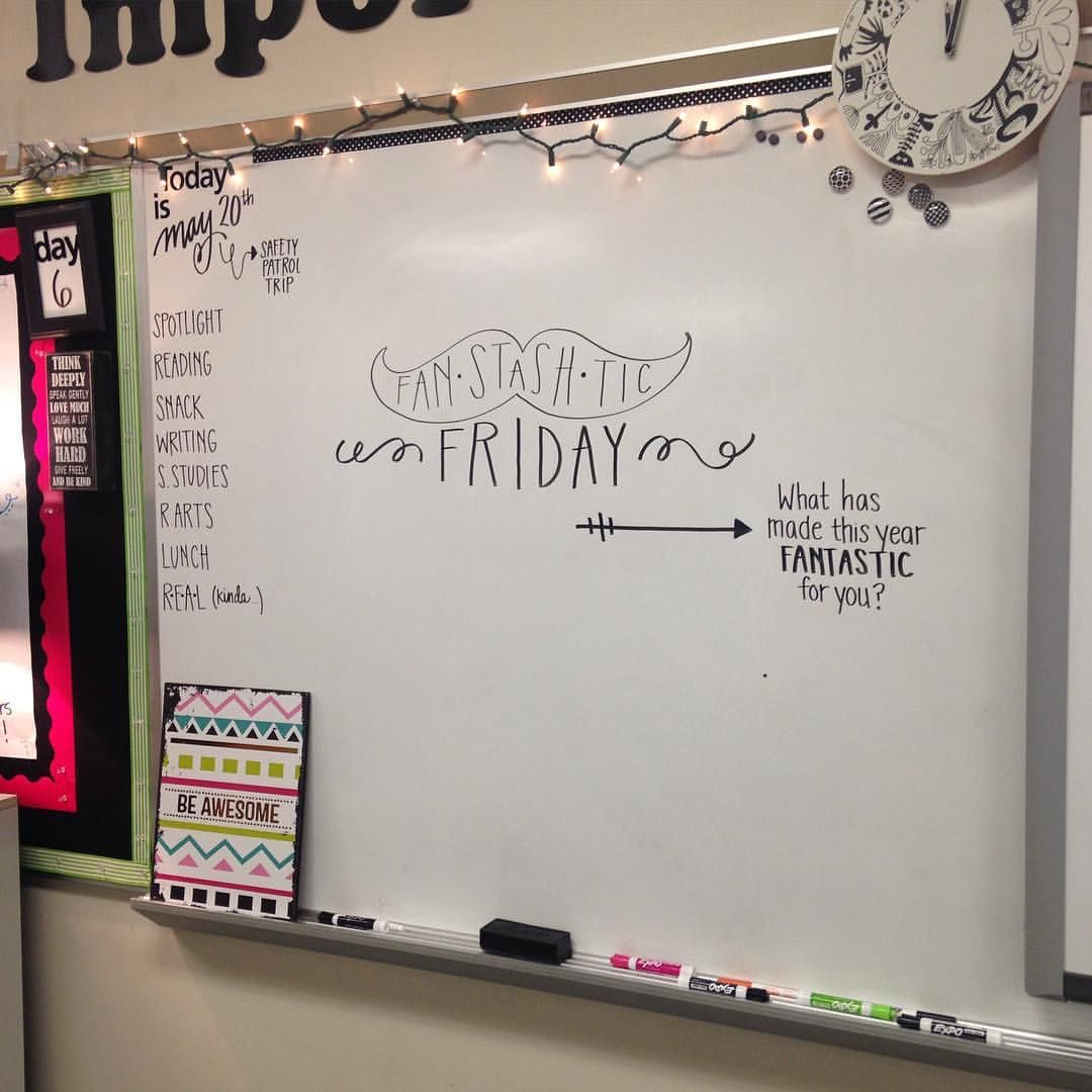 Great Whiteboard Question Of The Day For Friday