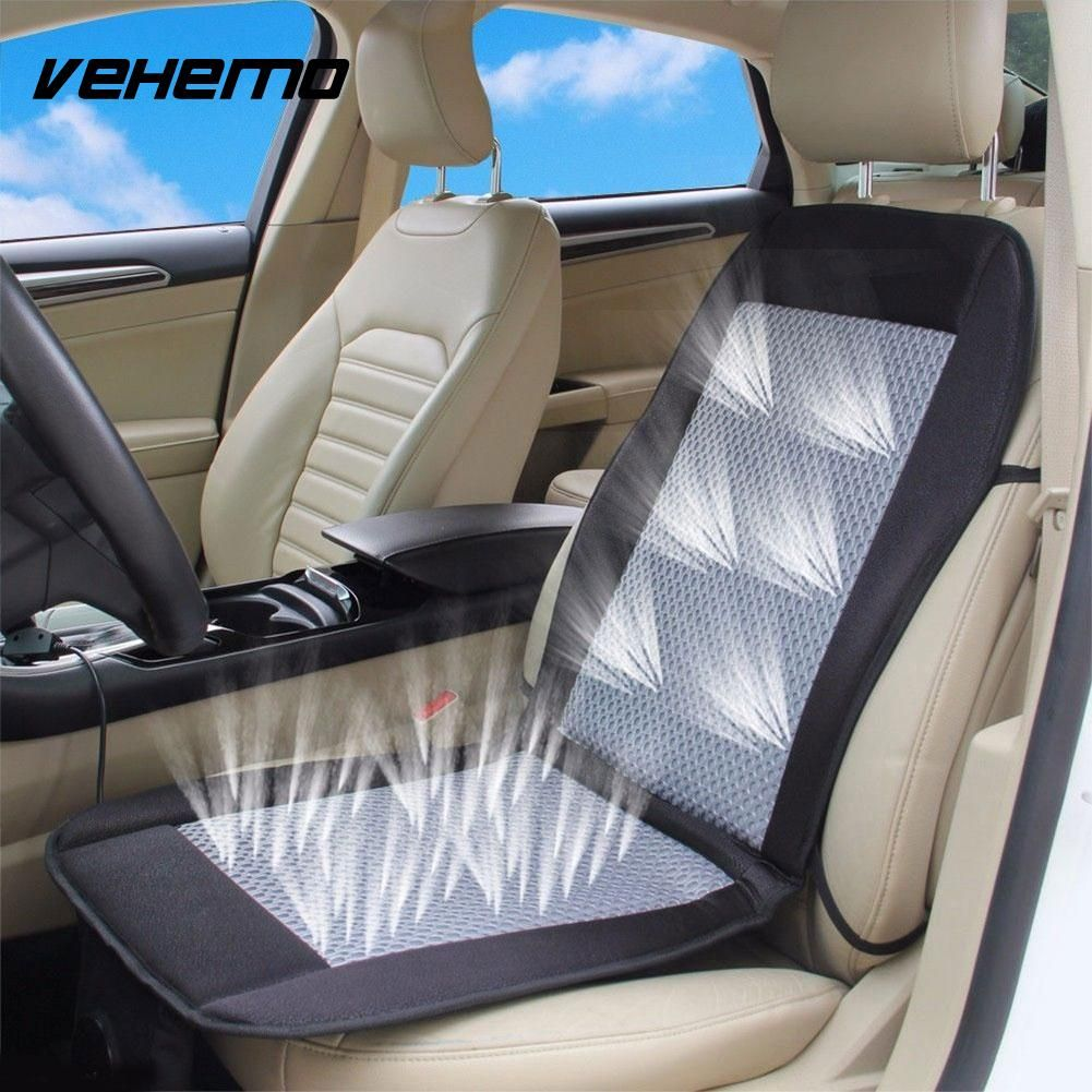 Car Seat Cushion Electric Ventilated Fan Conditioned Cooler Pad