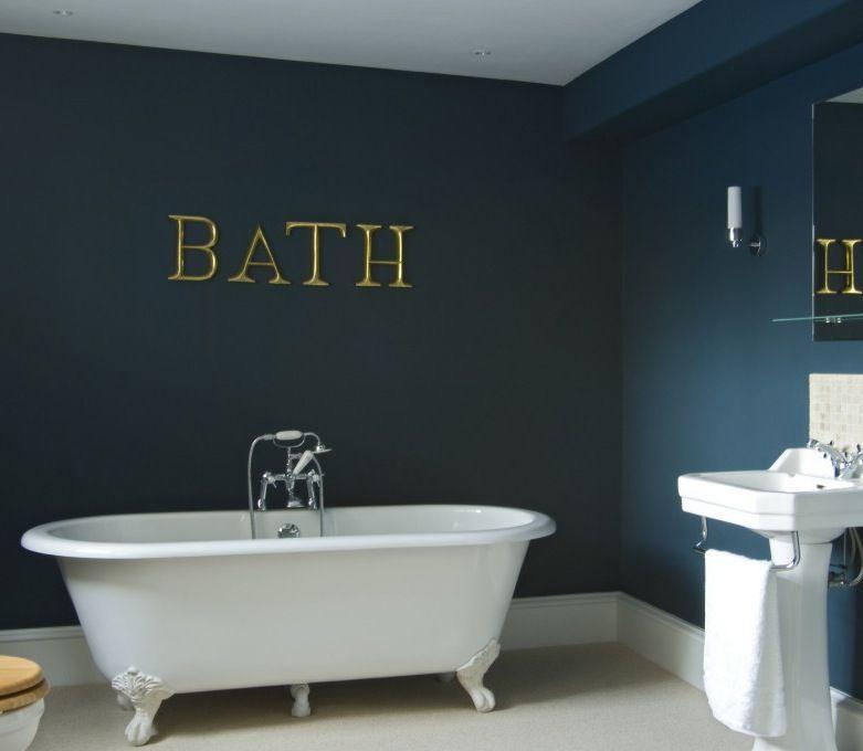Image Result For Dark Teal Bathroom Bathroom Hague Blue