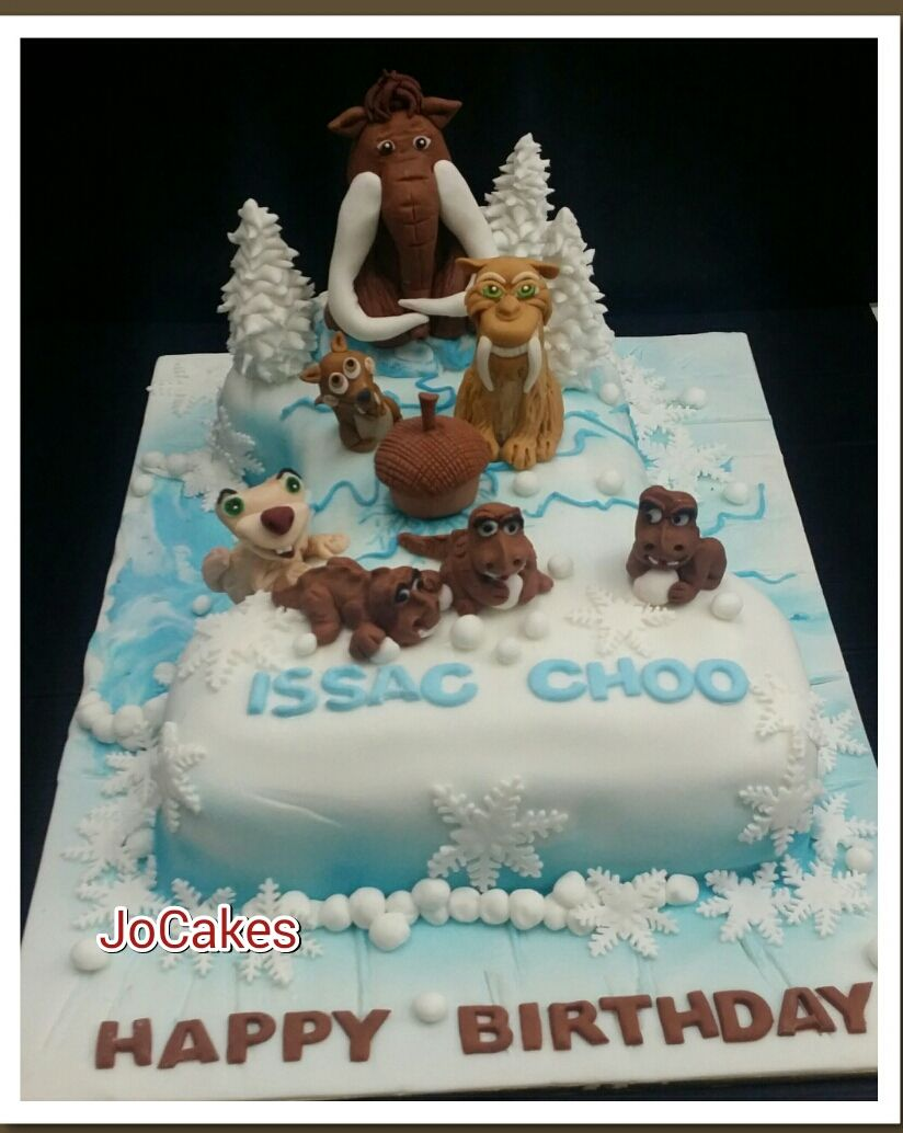 ice age birthday cake google search birthday cakes. Black Bedroom Furniture Sets. Home Design Ideas