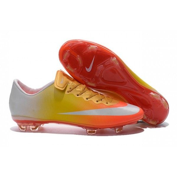 brand new ab5e1 6ce12 greece nike superfly orange and yellow 10d14 3410c  sweden la chaussure de  foot nike mercurial vapor x offre un contréle ultra rapide et une
