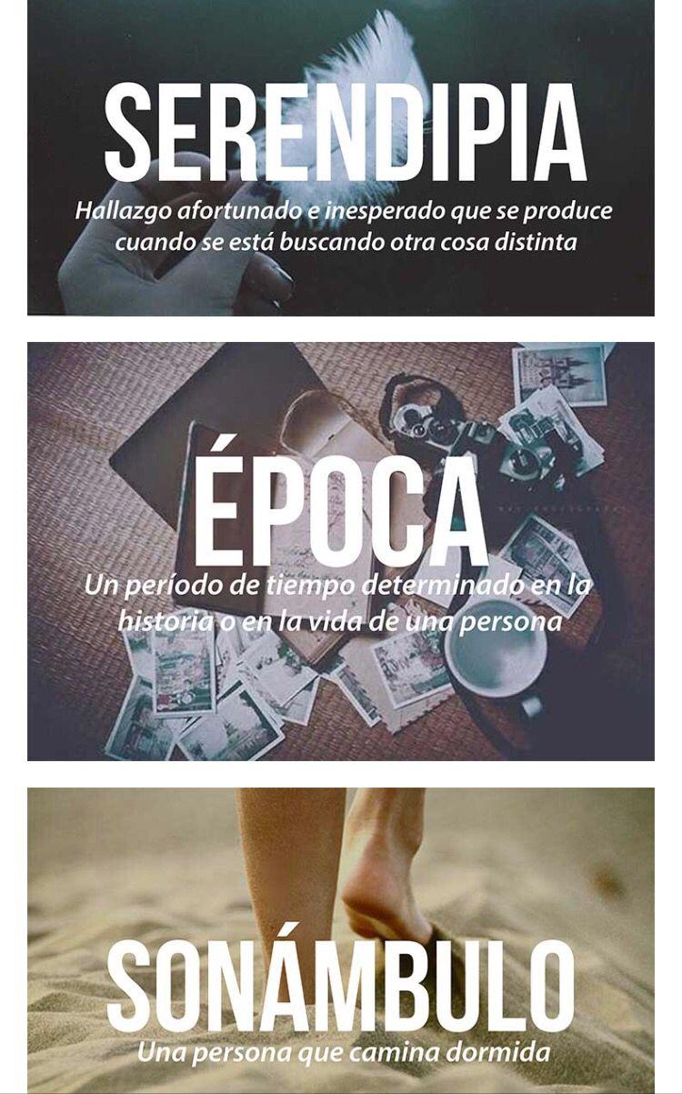 Palabras En Español Palabras Hermosas Palabras Bonitas Palabras Curiosas