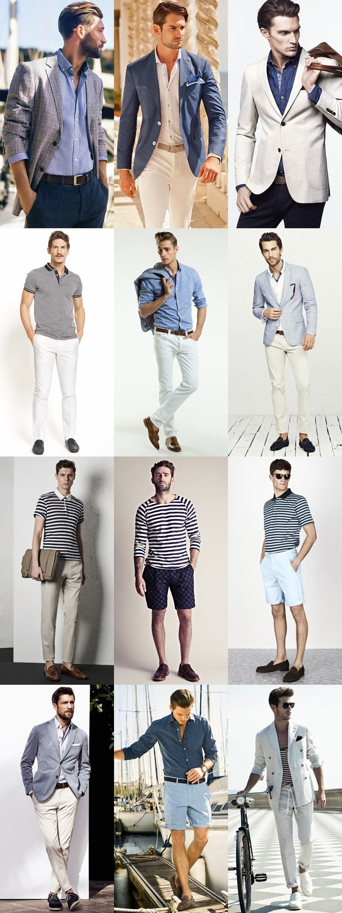 nice, france - men's spring city break outfit inspiration lookbook