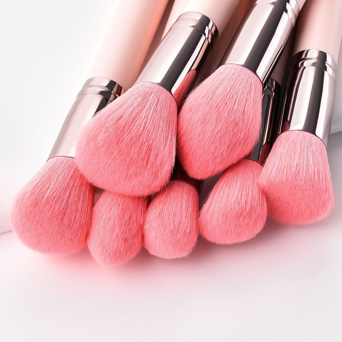 soft hair pink makeup brushes kit wholesaleinquiry