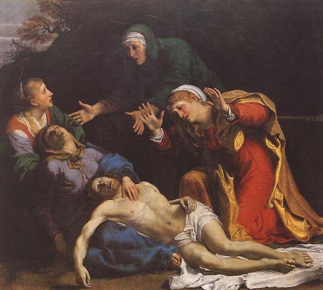 Αποτέλεσμα εικόνας για Αποκαθήλωση και θρήνος 1606