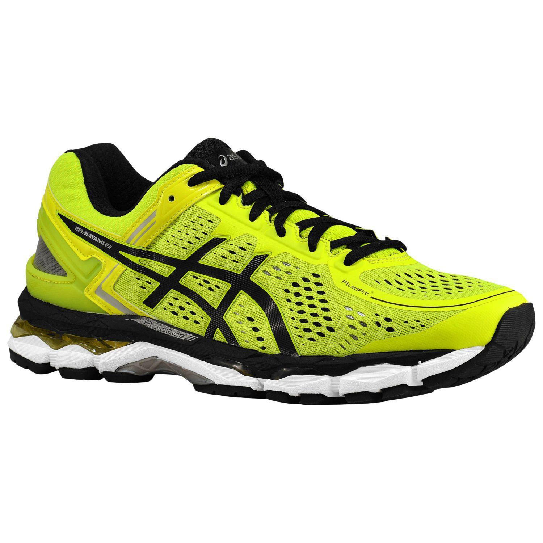 Asics GEL Kayano 22 Mens Running Shoes Flash Yellow - http://www.