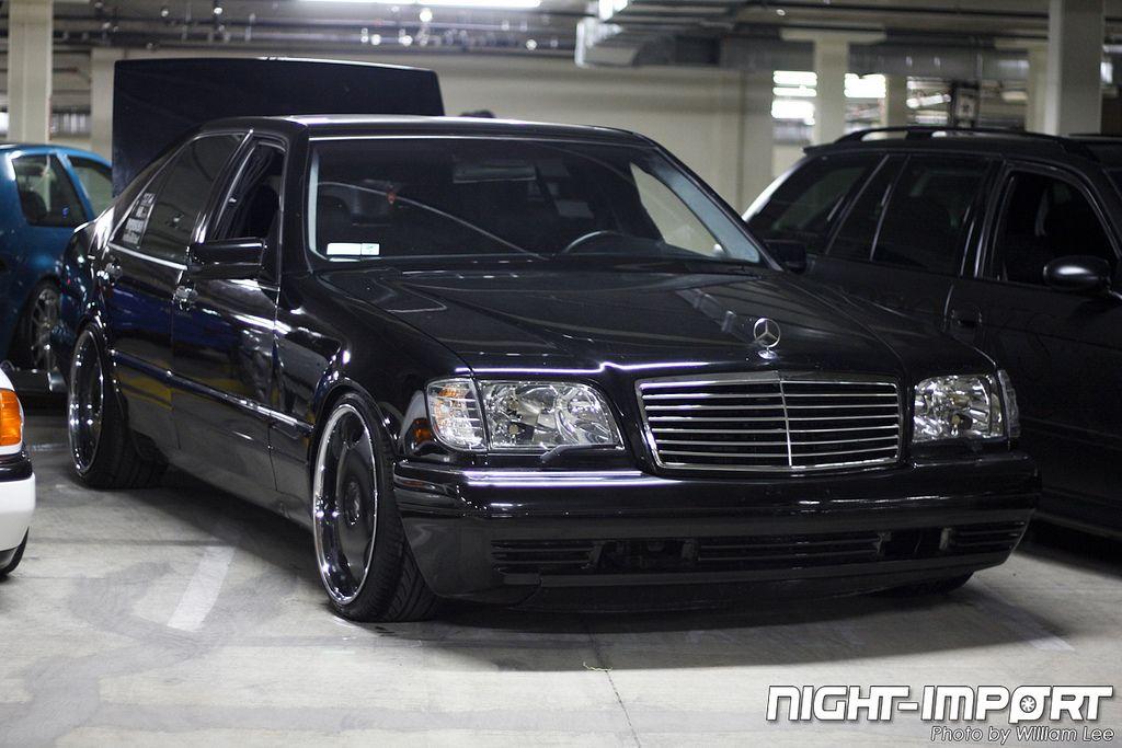 Mercedes S500 W140 Big Body With 20 In Lowenharts 20x9 Fnt