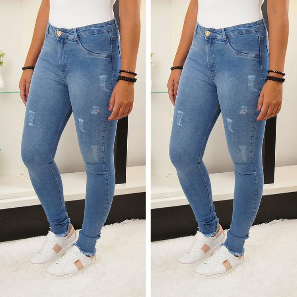 3018464ed3ce Jeans Feminino | Calças Jeans Feminina em 2019 | Jeans, Calça jeans ...