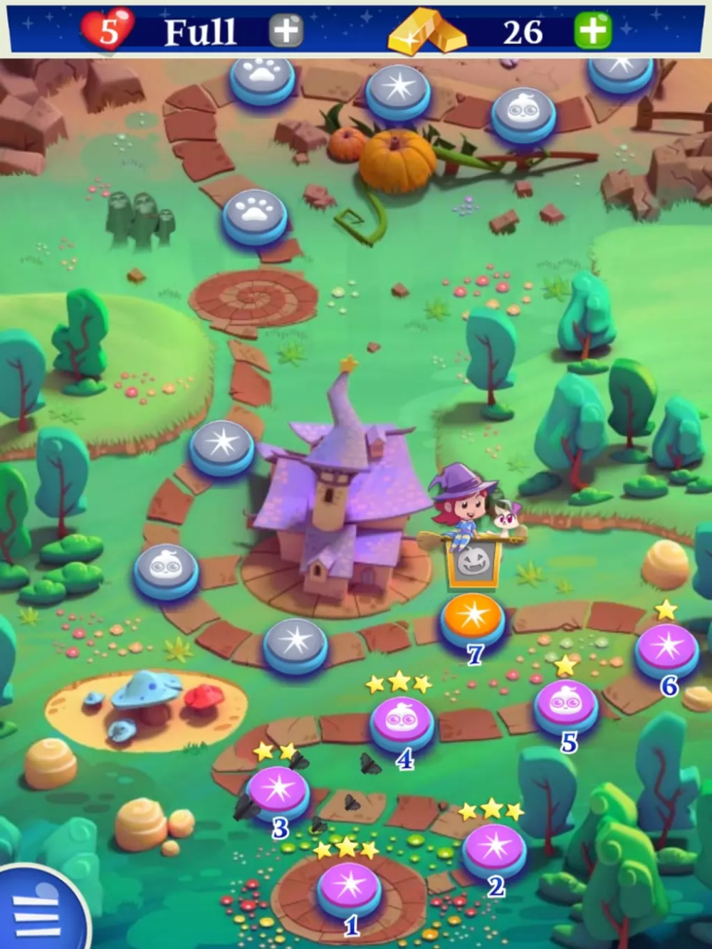 Bubble Witch Saga 2 in 2020 Bubbles, Witch, Saga