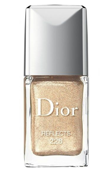 Dior 'Colour Icons - Vernis' Gel Shine & Long Wear Nail Lacquer || golden! @nordstrom