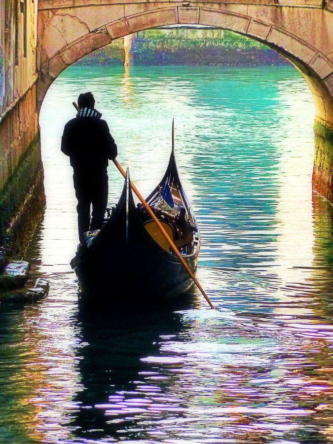Photo of Float away on a gondola in romantic Venice. #italy by Pieter Arnolli