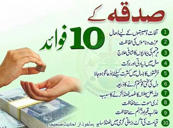 10 benefits of charity (With images) | Best islamic quotes ...