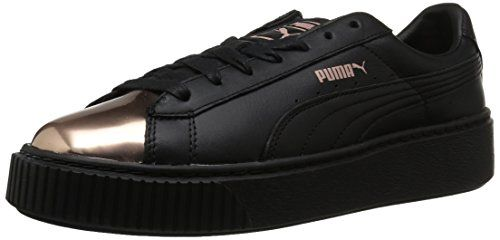 75eb626b474c PUMA Women s Basket Platform Metallic Fashion Sneaker  Amazon  Beauty   امازون  Christmas