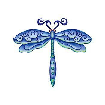 c3c405d796cdf Dragonfly Temporary Tattoo | Tattoos | Tattoos, Temporary tattoo ...
