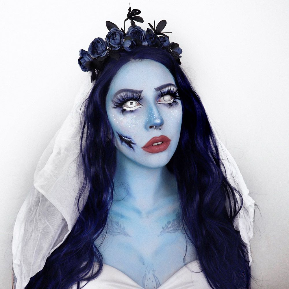 Scary Halloween Makeup Corpse Bride Tattoo Junkee