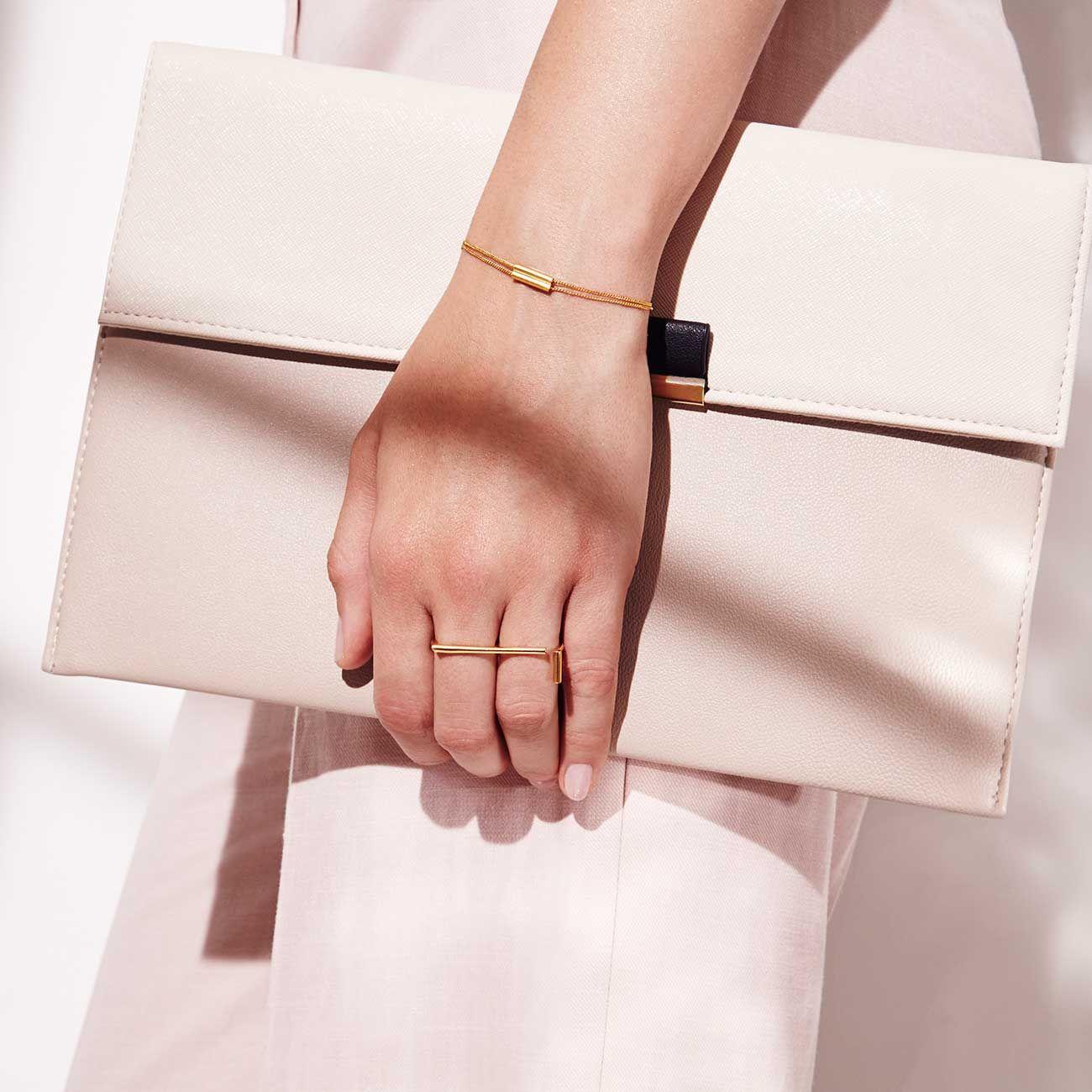 Mei-li Rose Industria Bangle - Sterling silver wwYGew