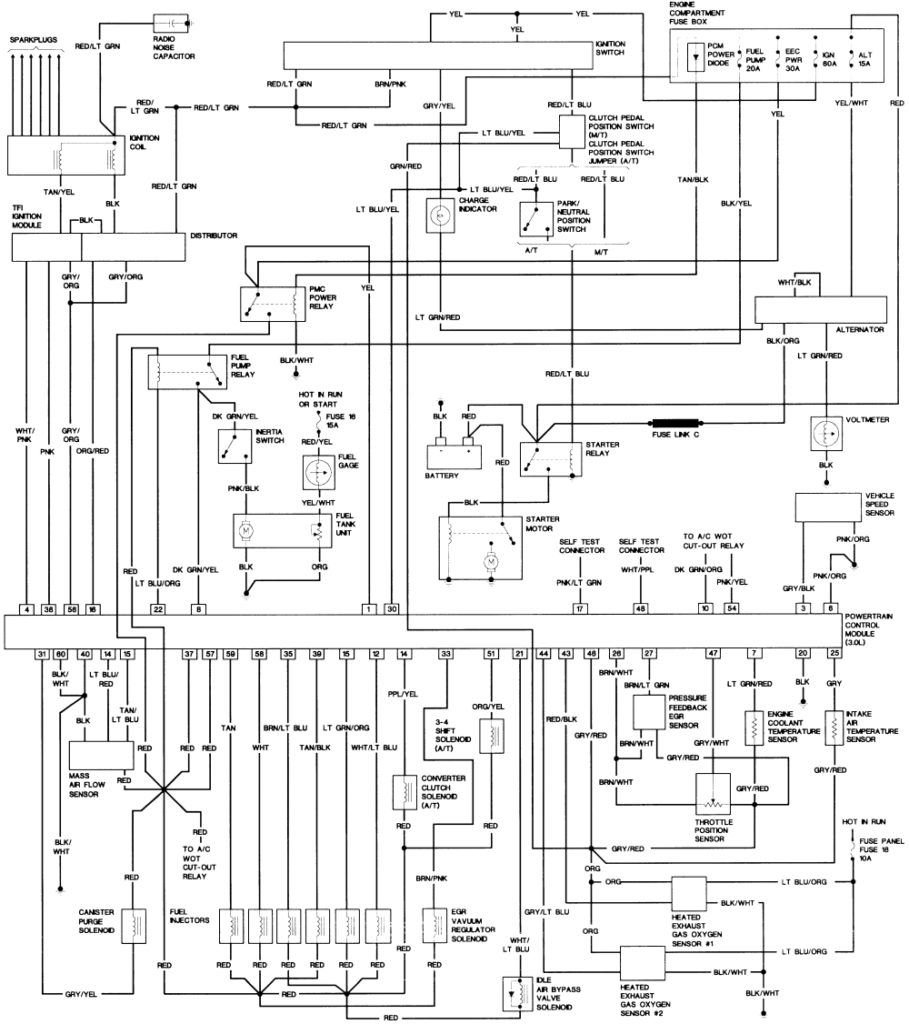 2000 Ford Ranger Wiring Diagram | Ford ranger, 2005 ford ranger, 2009 ford  explorer | Ford Ranger Wiring Diagrams 2003 |  | Pinterest