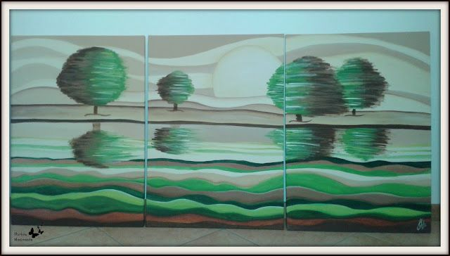 Creare con le mani e con la mente...:  Il Mio primo Quadro. ( My first painting )