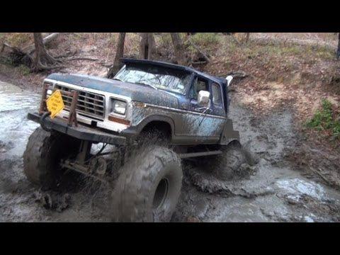 Bettie Mud Monsters Monster Trucks Mud Trail Riding