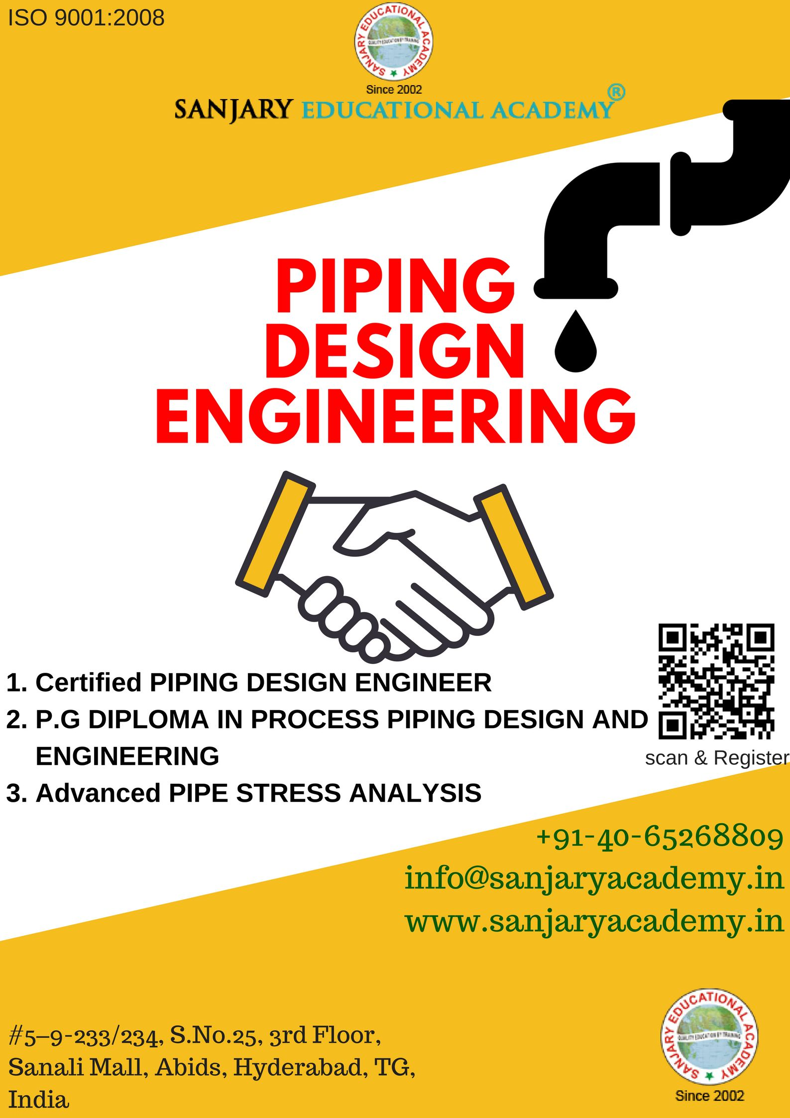 Piping design course is one of the best course for