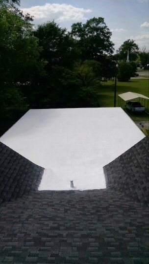 After Coating With Conklin Product Outdoor Decor Outdoor Roofing