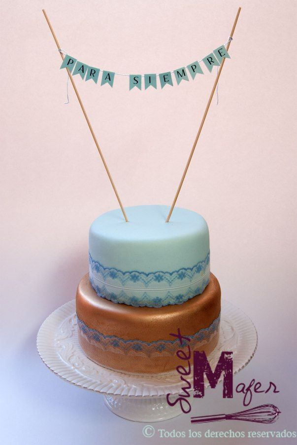torta-gold-and-blue-lace