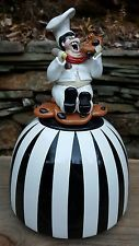~VERY RARE Doug Anderson Cookie Jar Man Baker Chef~ESTATE ...