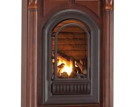 hearth sense a series natural gas arched vent free millivolt