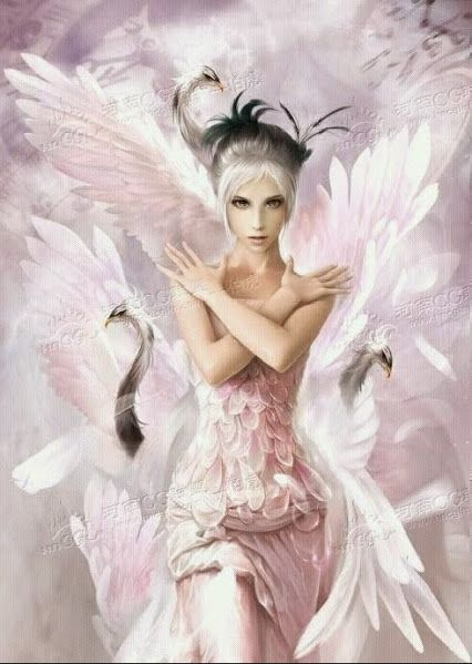 Swan Princess Wings White And Dramatic In 2019 Fairy