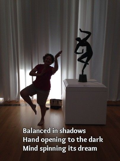 Engaging #art in @ncartmuseum with sculpture by #ukraine artist