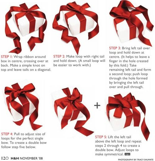 Ribbons And Gift Wrapping Techniques Gift Wrapping Techniques