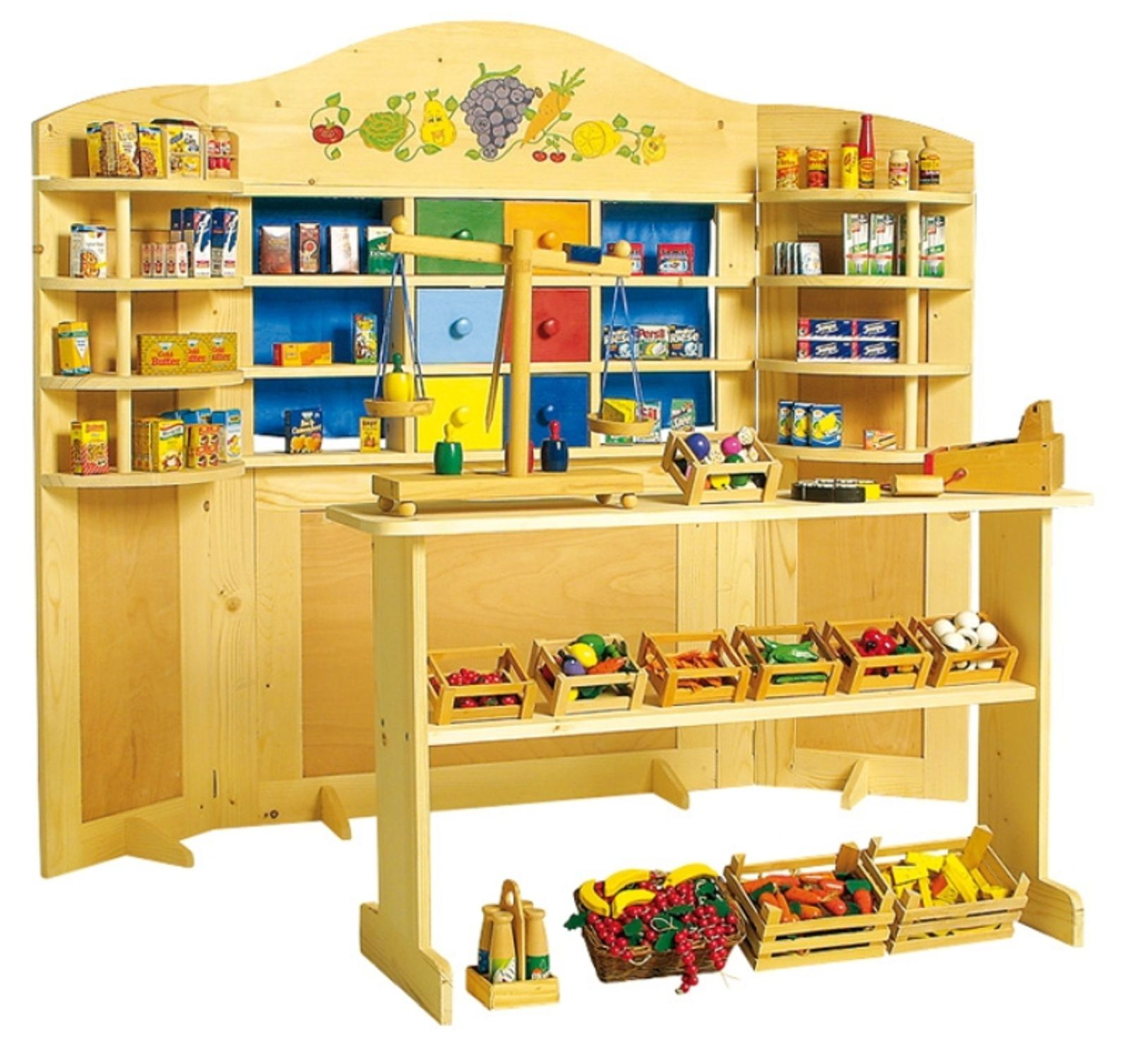 Children s Wooden Country Grocery Store