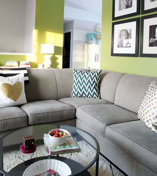 Marble Top Coffee Table In Living Room: Accent Walls In Living Room