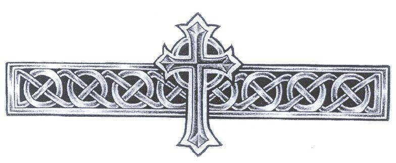 Celtic Band CROSS Celtic Tattoos Celtic tattoos