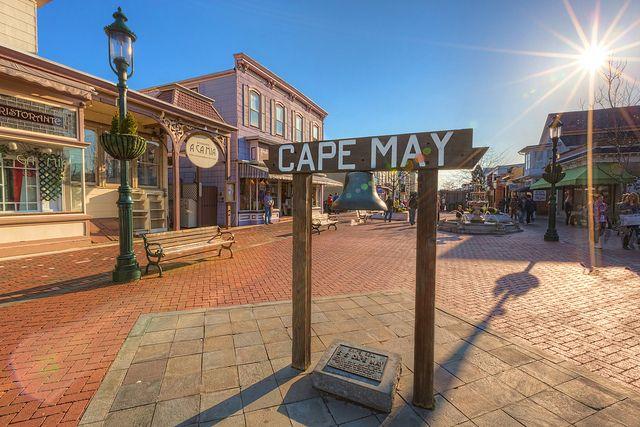 Washington Street Mall Cape May Nj